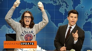 Weekend Update: Tina Fey on Protesting After Charlottesville - SNL