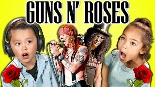 KIDS REACT TO GUNS N