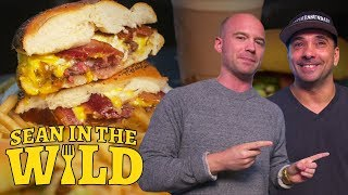 How to Make a Breakfast Burger   Sean in the Wild