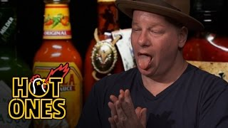 Jeff Ross Gets Roasted by Spicy Wings | Hot Ones