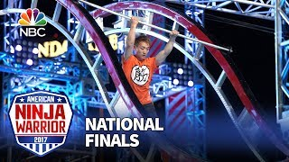 Tyler Yamauchi at the Las Vegas National Finals: Stage 1 - American Ninja Warrior 2017