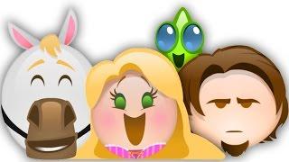 Tangled as told by Emoji | Disney