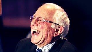 Bernie Sanders Dances on the Grave of Trump