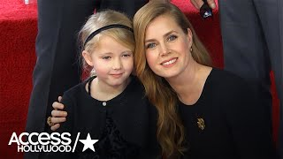 Amy Adams On Bringing Her Adorable Daughter To Her Walk Of Fame Ceremony | Access Hollywood