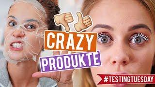SOWAS BENUTZT MAN?? - Neue Beauty-Produkte im LIVE TEST | SNUKIEFUL