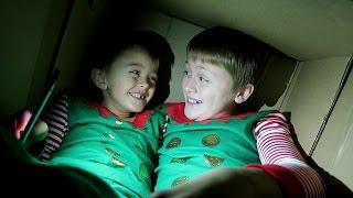 MAILING MY KIDS IN A BOX!!