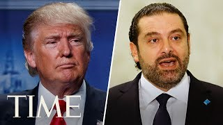 President Donald Trump And Lebanese Prime Minister Saad Hariri Give Joint Press Conference | TIME
