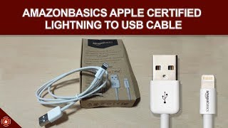 AmazonBasics Apple Certified Lightning to USB Cable - Product Reviews