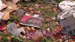 Bottles of Whiskey Spill Onto Arkansas Highway After Truck Crash