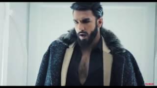 Ranveer Singh gets into his Alauddin Khilji mood from Padmavati on Filmfare's November cover
