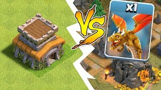 """TH8 BASE vs. LAST BOSS DRAGON!! """"Clash Of Clans"""" HOW TO WIN!!"""
