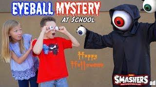 Eyeball MYSTERY at School! Ninja Kidz TV