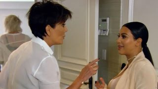 Kim Kardashian Confronts Kris Jenner Over Stealing Her Rare Marble Slabs
