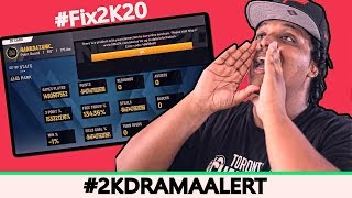 2K PLAYERS PROTEST NBA 2K20'S HORRIBLE LAUNCH, DEVS FINALLY RESPOND #fix2K20