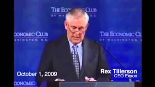 Rex Tillerson on Carbon Tax