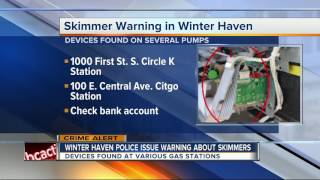 Skimmers found at multiple gas stations in Polk County