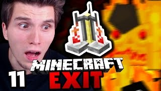 MAP ALS DOWNLOAD & LVL30 VERZAUBERUNG ✪ Minecraft EXIT #11 | Paluten
