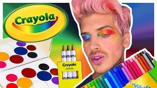 CRAYOLA MAKEUP TESTED! | Is it Joey Graceffa APPROVED?