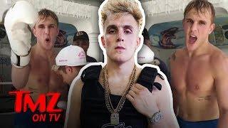 Jake Paul Takes A Pounding! | TMZ TV