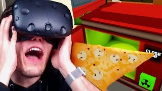VERSEUCHTE PIZZA AUS DER MIKROWELLE ✪ JOB SIMULATOR Virtual Reality