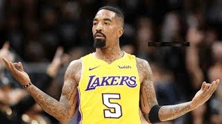 JR Smith Joins LeBron James on Lakers