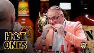 Riff Raff Goes Full Burly Boy on Some Spicy Wings   Hot Ones
