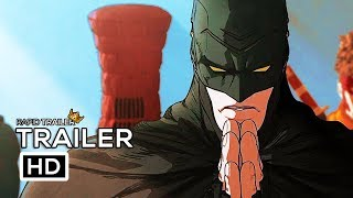 BATMAN NINJA Official Trailer #2 (2018) Animated Superhero Movie HD