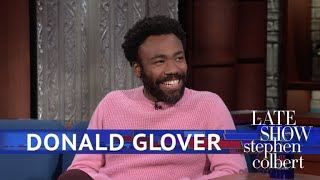 Donald Glover Meets The Girl Scout Who Went Viral With