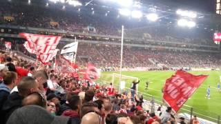 1. FC Köln gegen Bochum Aufstieg Helmes zum 2-1