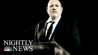 Gwyneth Paltrow, Angelina Jolie Among Harvey Weinstein Accusers | NBC Nightly News