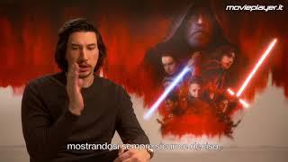 Star Wars: Gli ultimi Jedi - Video intervista ad Adam Driver