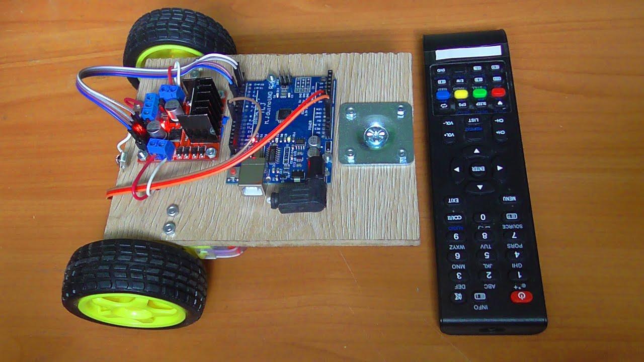 Как сделать робота своими руками на пульте