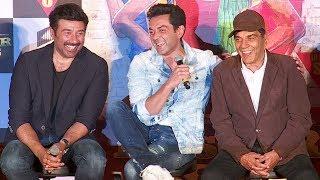Dharmendra,Sunny & Bobby Deol