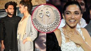 Deepika Padukone Gets A Diamond Set From Ranveer Singh