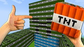 GIANT TNT MOBS EXPLOSION! - Realistic Minecraft