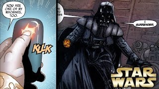 How Darth Vader was Disabled in a Click of a Button