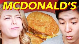 People Try Bizarre McDonald