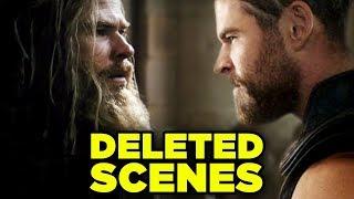 Avengers Endgame DELETED SCENES - Alternate Time Heist Revealed!