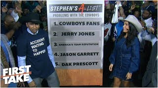 Stephen A. dissects Cowboys