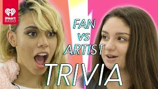 Dinah Jane Challenges Super Fan In Trivia Battle | Fan Vs. Artist Trivia