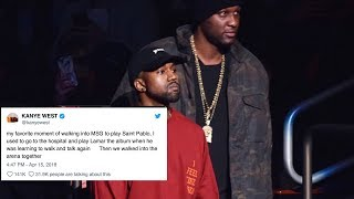Kanye West Throws MAJOR SHADE At Tristan Thompson Over Cheating Scandal!