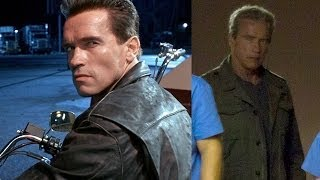 Terminator 5 First Look: Arnold Is Back!