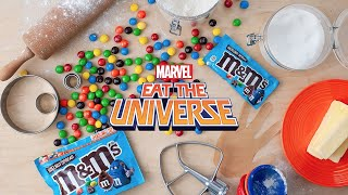 Making an Infinity Gauntlet with Hazelnut Spread M&M's!