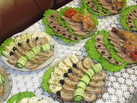Блюда на праздничный стол на новый год рецепты