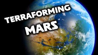 Realistically Terraforming Mars in Universe Sandbox 2