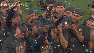 MLB.com FastCast: Astros win 2017 ALCS - 10/21/17