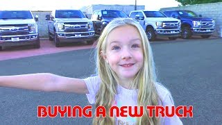 Buying a New Truck! No More Tonka Truck It