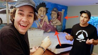 SURPRISE BEDROOM MAKEOVER GONE WRONG!!