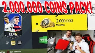 OMG! 2.000.000 COINS TOTS PACK mit KLEINEM BRUDER ⛔️🔥 - FIFA 17 PACK OPENING ULTIMATE TEAM (DEUTSCH)