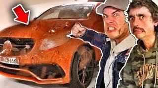 Leons AUTO mit 50kg NUTELLA Beschmieren!!! PRANK